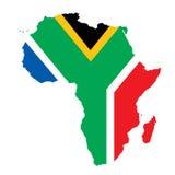 Het concept van Zuid-Afrika Stock Afbeelding