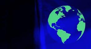 Het conceptenachtergrond van de wereldreis Stock Fotografie