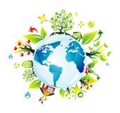 Het conceptenAchtergrond van Environmetal Stock Fotografie