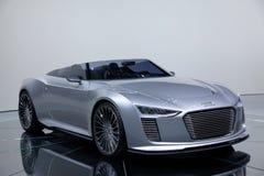 Het conceptenauto van Audi e -e-tron Stock Afbeelding