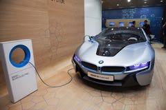 Het conceptenauto van BMW i8 Royalty-vrije Stock Afbeelding