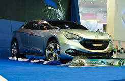 Het conceptenauto van Hyundai iflow Stock Fotografie