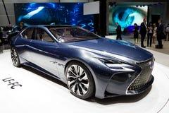 2018 het conceptenauto van Lexus LF-LC Royalty-vrije Stock Foto's