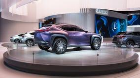 Het Conceptenauto van Lexus UX Royalty-vrije Stock Afbeelding