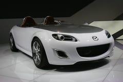 Het conceptenauto van Mazda Stock Afbeelding