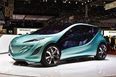 Het conceptenauto van Mazda in Genève motorshow Royalty-vrije Stock Fotografie