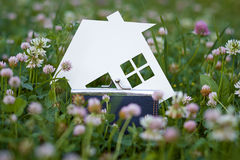 Het conceptenbeeld van maakt uw een huis Royalty-vrije Stock Foto's