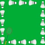 Het conceptenkaart van het badminton vector illustratie