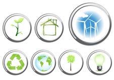 Het conceptenknopen van het milieu stock illustratie