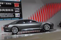 Het conceptenlimousine van de Metropool van Citroën Royalty-vrije Stock Afbeeldingen
