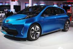 Het conceptenmodel van Toyota van Prius Royalty-vrije Stock Foto's