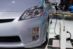 Het conceptenmodel van Toyota van Prius Stock Afbeeldingen