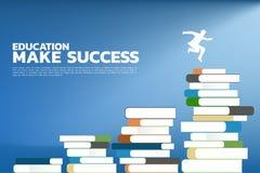 Het conceptenonderwijs maakt succes stock illustratie