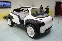 Het conceptensportwagen van Citroën Lacoste Stock Foto's