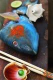 Het conceptenstilleven van sushi Stock Foto's