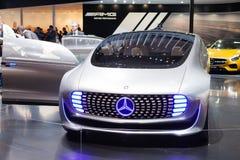 Het Conceptenvoertuig van Mercedes-Benz F 015 Royalty-vrije Stock Foto's