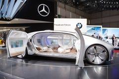 Het Conceptenvoertuig van Mercedes-Benz F 015 Stock Foto's