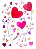 Het Conceptontwerp van de liefde Stock Foto's