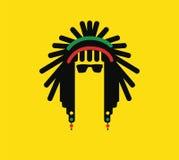 Het Conceptontwerp van de Reggaecultuur royalty-vrije stock foto