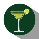 Het conceptontwerp van drankenglazen Royalty-vrije Stock Foto