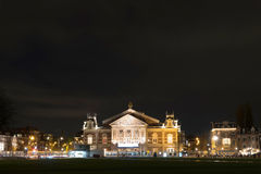 Het Concertgebouw, Amsterdam, Netherlands. The Royal Concertgebouw is a concert hall in Amsterdam, Netherlands. Because of its highly regarded acoustics, the Royalty Free Stock Photos