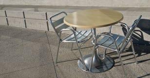 Het concrete Dineren voor Twee Stock Fotografie