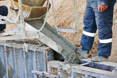 Het concrete werk Stock Foto's