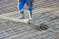 Het concrete werk Stock Afbeelding