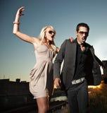 Het conflict van het huwelijk Royalty-vrije Stock Foto's