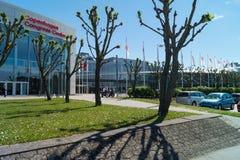 Het Congrescentrum van Kopenhagen/Bella Center Stock Foto's