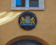 Het consulaat van Nederland in Verona royalty-vrije stock foto's