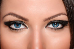 Het contact van het oog Stock Foto