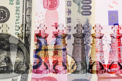 Het contante geld is Koning Stock Foto