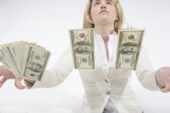 Het Contante geld van Counterfiet royalty-vrije stock afbeelding
