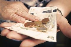 Het contante geld van de persoonsholding