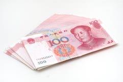 Het contante geld van de stapel RMB Stock Foto's