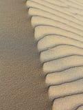 Het contrast van het zand Stock Foto's