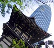 Het contrast van Megapolis Royalty-vrije Stock Foto's