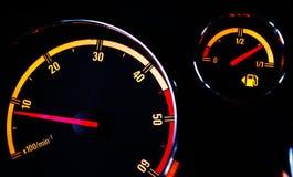 Het controlebord van de auto Stock Foto