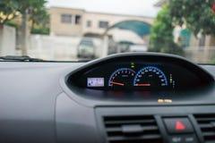 Het controlebord van de auto Royalty-vrije Stock Afbeelding