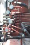 Het controlebord van de hydraulische eenheid royalty-vrije stock foto
