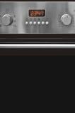 Het controlebord van de oven Stock Fotografie