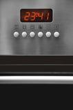 Het controlebord van de oven Stock Afbeelding