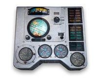 Het controlebord van het ruimteschip stock fotografie