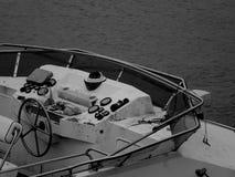 Het Controledek van een Bedorven Boot stock afbeeldingen