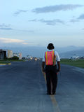 Het Controlemechanisme van de luchthaven Stock Foto
