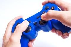 Het controlemechanisme van de videospelletjeconsole Royalty-vrije Stock Foto