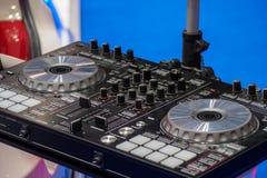 Het controlemechanisme van DJ stock fotografie