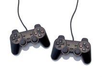 Het controlemechanisme van het spel Stock Fotografie