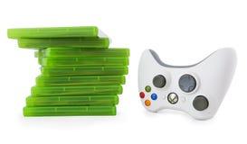 Het controlemechanisme van het spel voor Xbox Royalty-vrije Stock Afbeeldingen